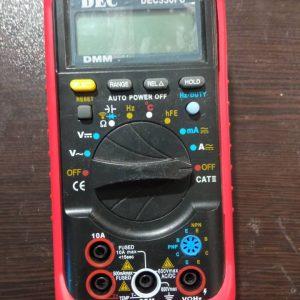 مولتی متر دیجیتالdec 3310fc اتوپاور